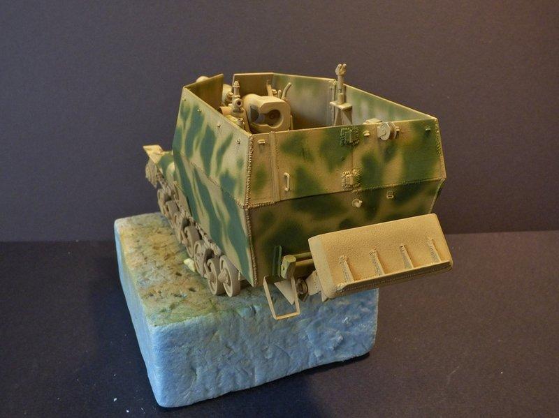 15 cm sFH.13/1 auf Geschutzwagen Lorraine-Schlepper Sd.Kfz. 135/1   RPM 1/35 ème  - Page 3 190425074117884320