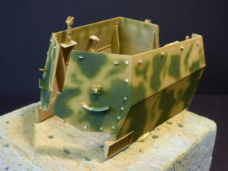 15 cm sFH.13/1 auf Geschutzwagen Lorraine-Schlepper Sd.Kfz. 135/1   RPM 1/35 ème  - Page 3 190425075927674809