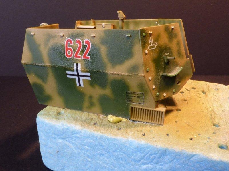 15 cm sFH.13/1 auf Geschutzwagen Lorraine-Schlepper Sd.Kfz. 135/1   RPM 1/35 ème  - Page 3 190425080000454749