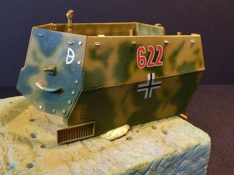15 cm sFH.13/1 auf Geschutzwagen Lorraine-Schlepper Sd.Kfz. 135/1   RPM 1/35 ème  - Page 3 190425080007552461