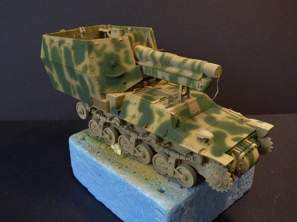 15 cm sFH.13/1 auf Geschutzwagen Lorraine-Schlepper Sd.Kfz. 135/1   RPM 1/35 ème  - Page 3 190425124325590379