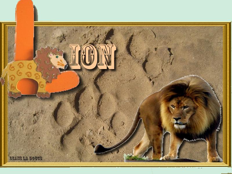 Alphabet animé L / Lapin-Lion 190426093050680391