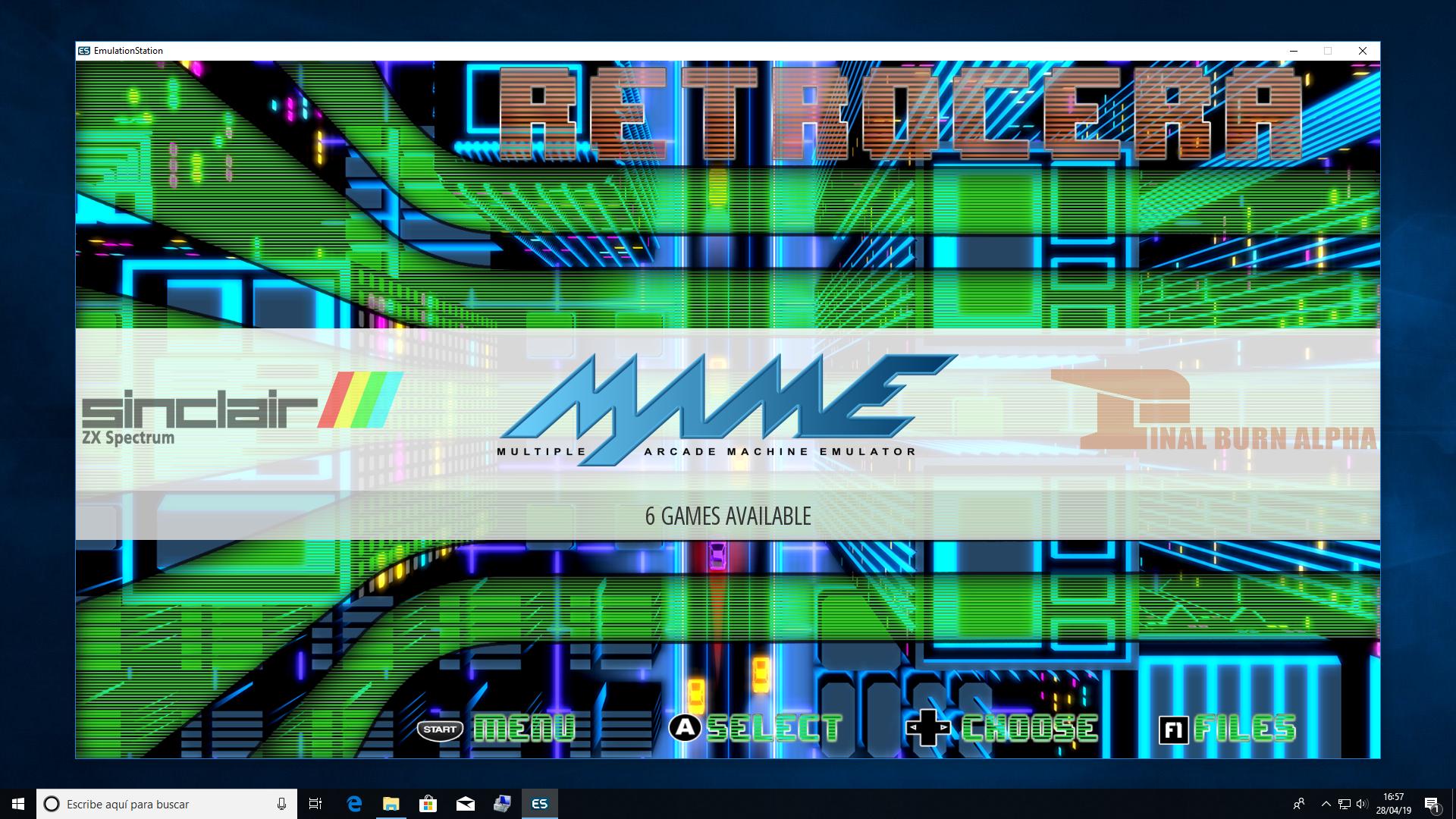 Recalbox Full Screen