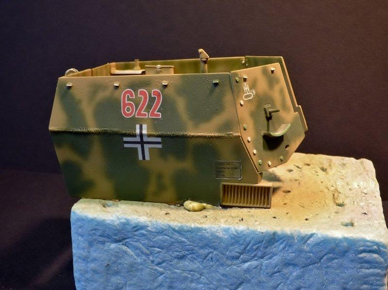 15 cm sFH.13/1 auf Geschutzwagen Lorraine-Schlepper Sd.Kfz. 135/1   RPM 1/35 ème  - Page 4 190502085718129188