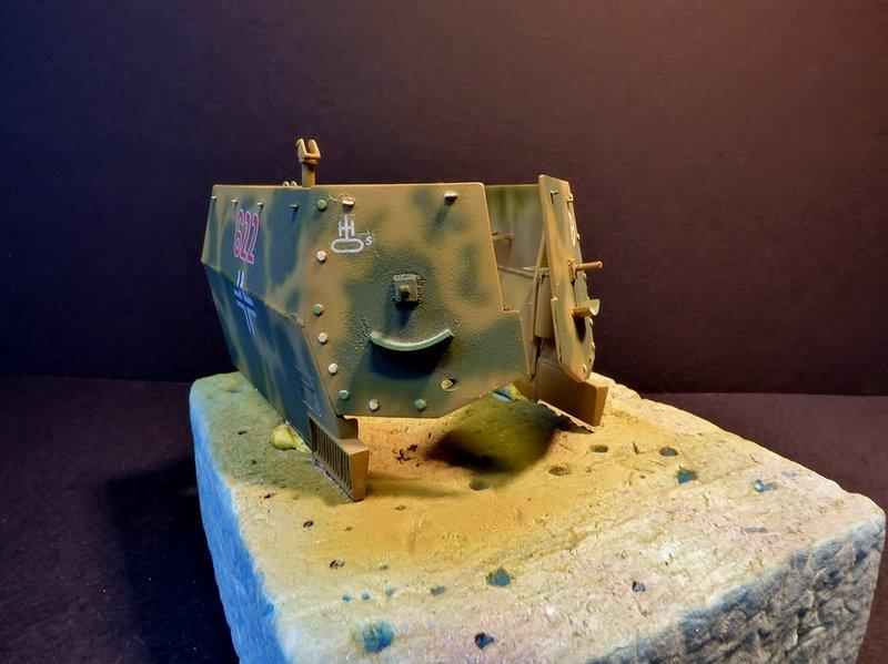 15 cm sFH.13/1 auf Geschutzwagen Lorraine-Schlepper Sd.Kfz. 135/1   RPM 1/35 ème  - Page 4 190502085729436611