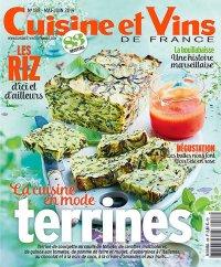Cuisine et Vins de France N°188 – Mai-Juin 2019