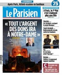 Le Parisien Du Jeudi 2 Mai 2019