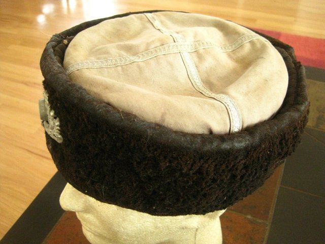 German WW2 Original Terek Cossacks Hat-Kubanka-5