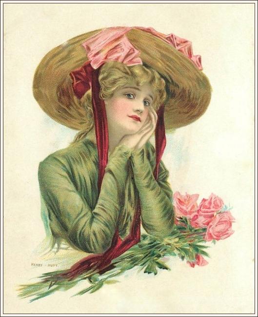 """Des élégantes  """"chapeautées"""" ... - Page 3 190503012701753297"""