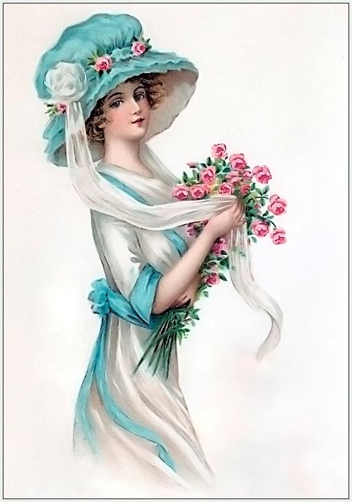 """Des élégantes  """"chapeautées"""" ... - Page 3 190503012959563785"""