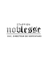 NOBLE & STAFF ◊ duc