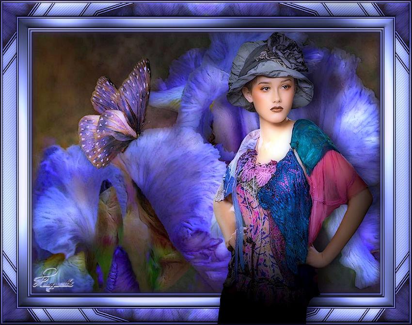 lady flower de Violinegraphisme 1