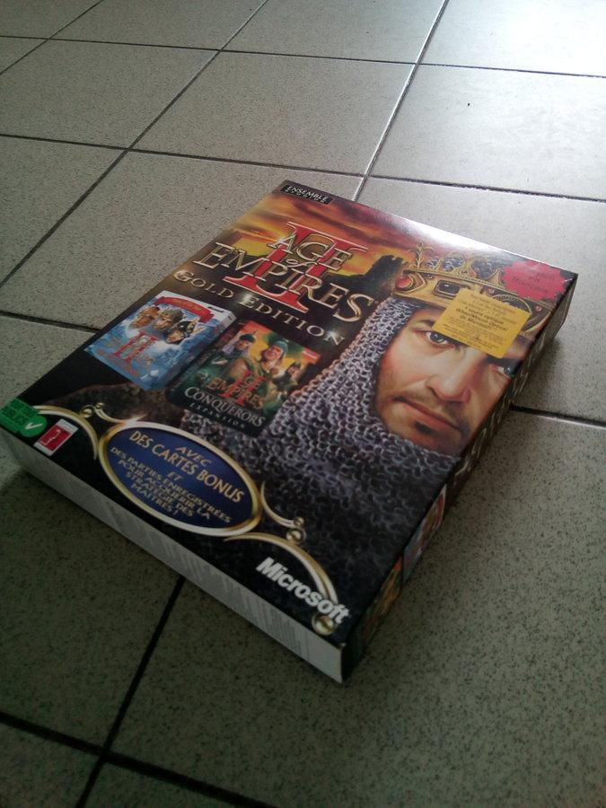 [est] age of empire 2 Gold edition big box 190506044824515093