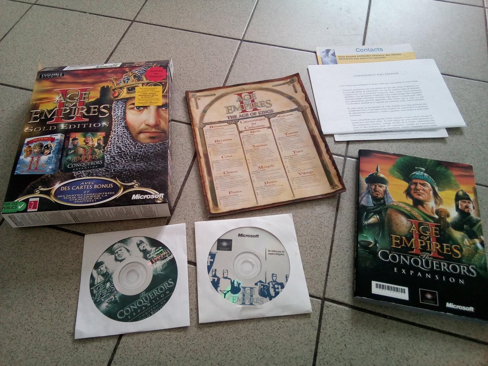 [est] age of empire 2 Gold edition big box 190506044824907601