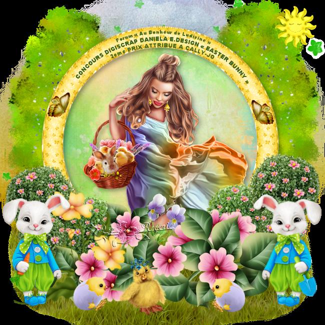Gagnants et Prix du Concours Digiscrap Daniela E. Design «Easter Bunny» 190507114204979135