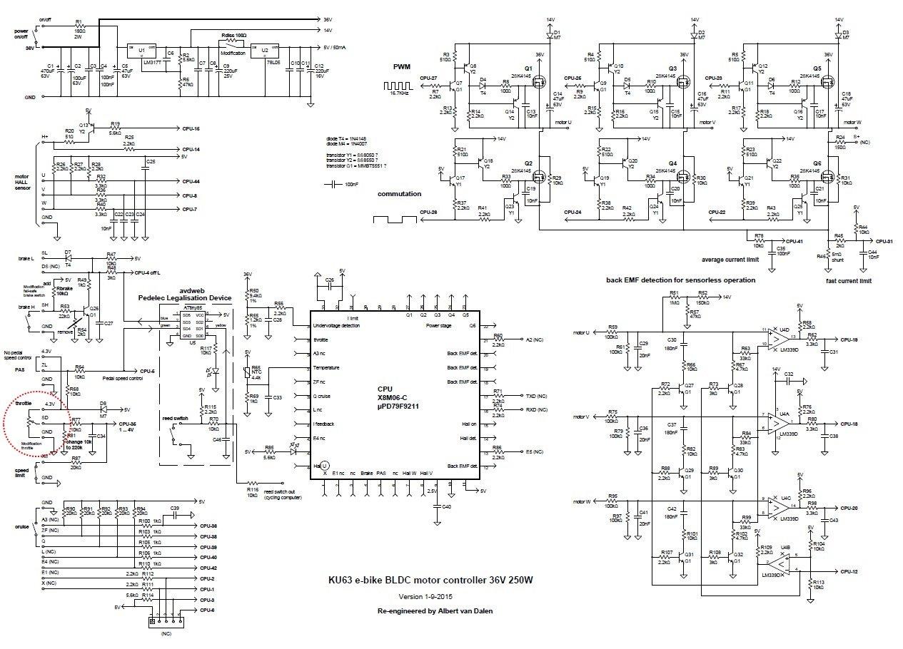 China-BLDC-motor-controller-36V-250W-1-circuit