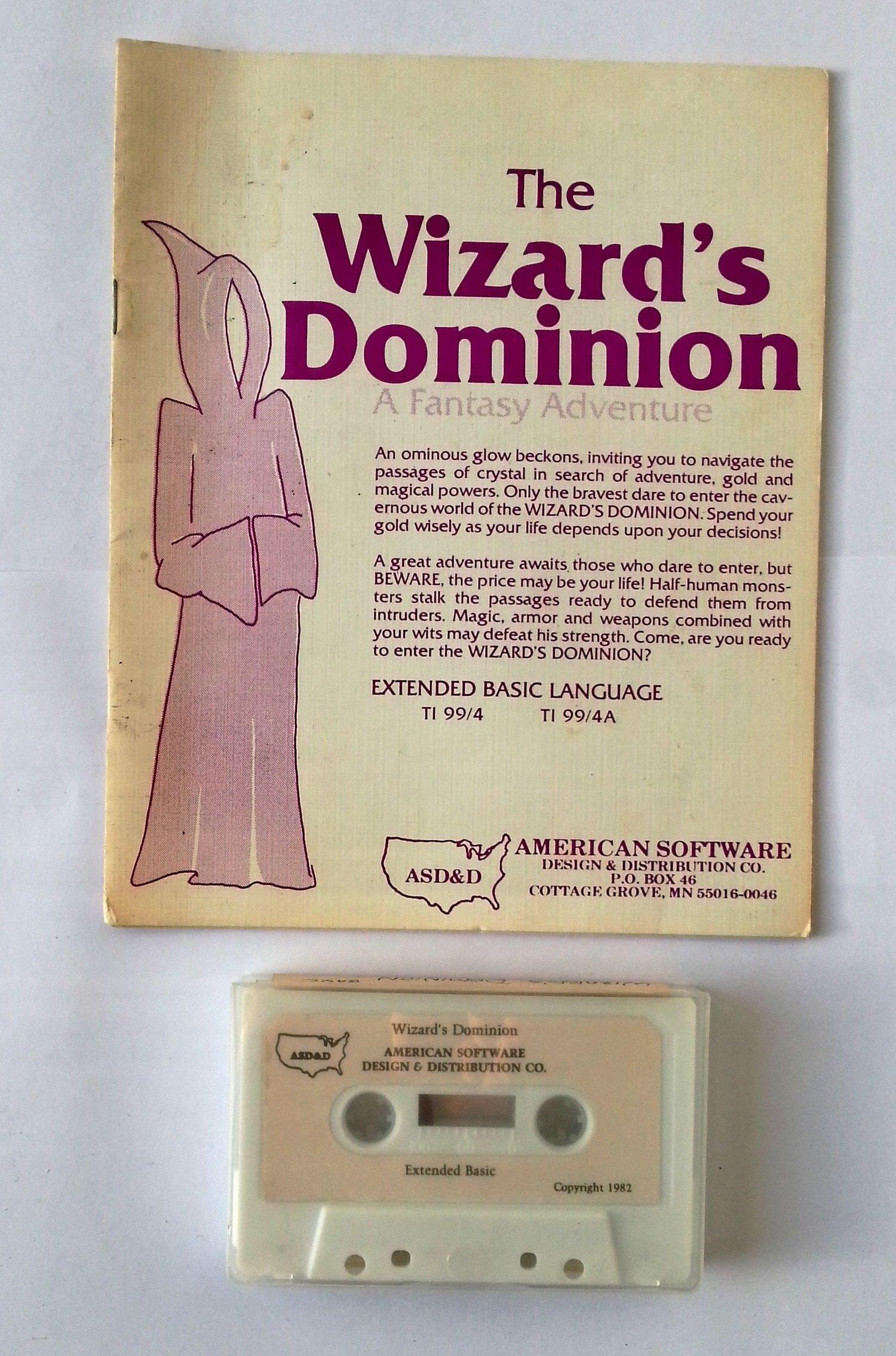 K7TheWizard'sDominion-AmericanSoftware
