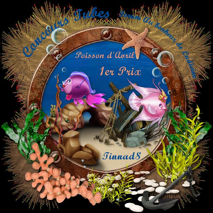 """Gagnants et prix du concours Tubes """"Poisson d'Avril"""" 190509012053695788"""