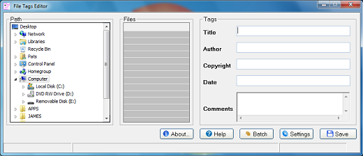Tag Editor Full version