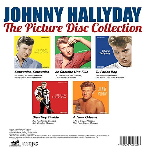Picture disc officiel ( Universal, Sony, Warner ) 190512071043866791