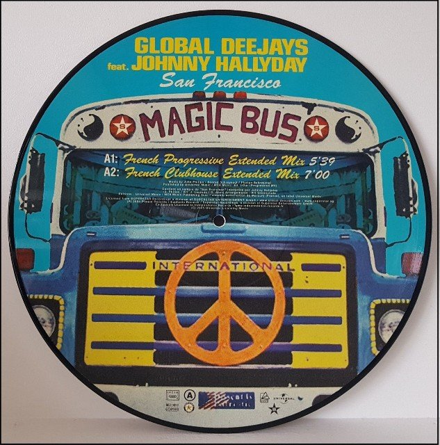 Picture disc officiel ( Universal, Sony, Warner ) 190513064547228085
