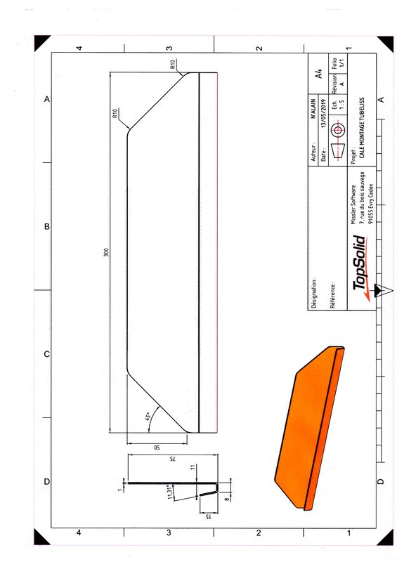 Plaque de guidage pour TUBLISS 190513124728475509