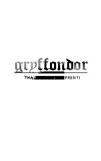GRYFFONDOR ◊ thaumaturge