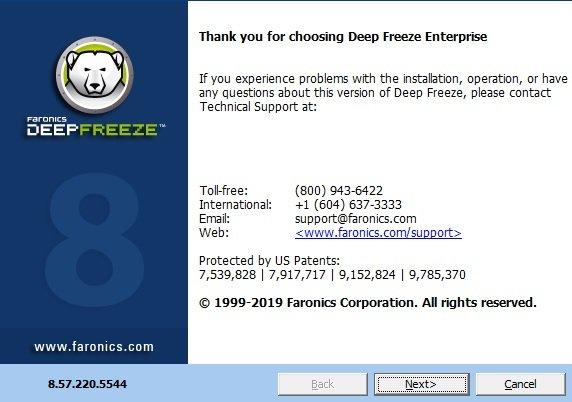 faronics deep freeze free download with crack