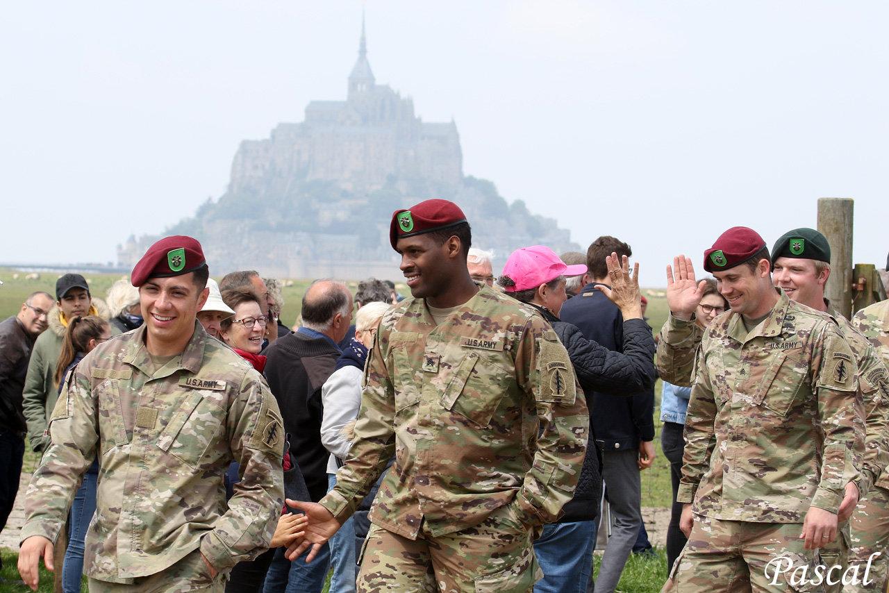 75ème Anniversaire du D-Day en Normandie 2019   190518081122939512