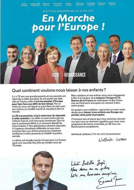 Macron n'ose même plus mettre sa tête sur les panneaux électoraux 190522072424140418