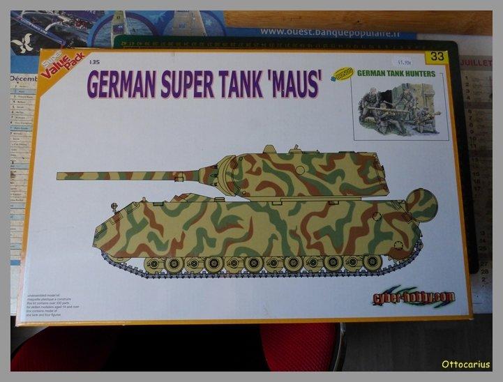 panzer - Panzer VIII  Maus  1/35 ème DRAGON 19052211443237137