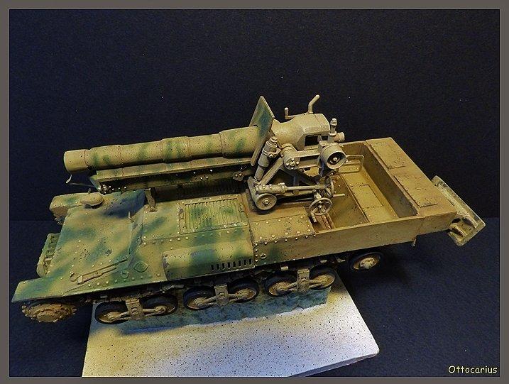 15 cm sFH.13/1 auf Geschutzwagen Lorraine-Schlepper Sd.Kfz. 135/1   RPM 1/35 ème  - Page 4 190523050639525267