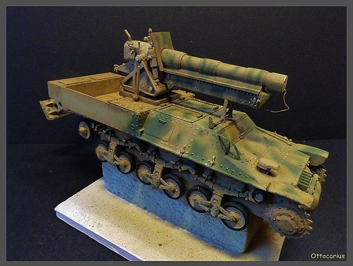 15 cm sFH.13/1 auf Geschutzwagen Lorraine-Schlepper Sd.Kfz. 135/1   RPM 1/35 ème  - Page 4 190523050929478892