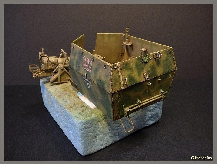 15 cm sFH.13/1 auf Geschutzwagen Lorraine-Schlepper Sd.Kfz. 135/1   RPM 1/35 ème  - Page 4 190524013714729158