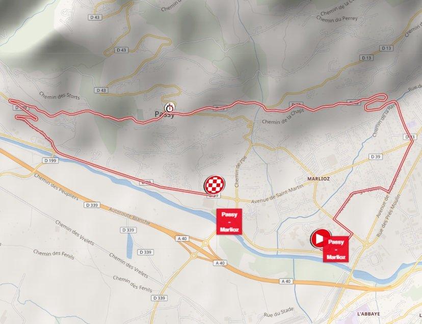 Tour de Savoie Mont-Blanc - étape 4 - parcours