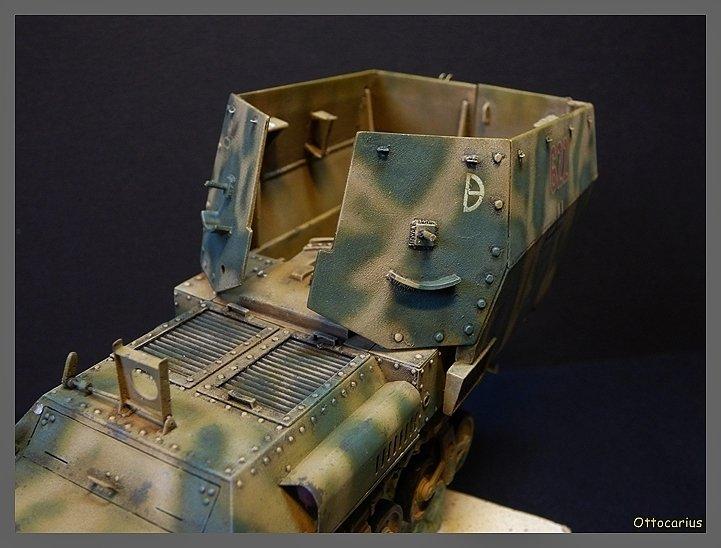 15 cm sFH.13/1 auf Geschutzwagen Lorraine-Schlepper Sd.Kfz. 135/1   RPM 1/35 ème  - Page 4 190525114520719139