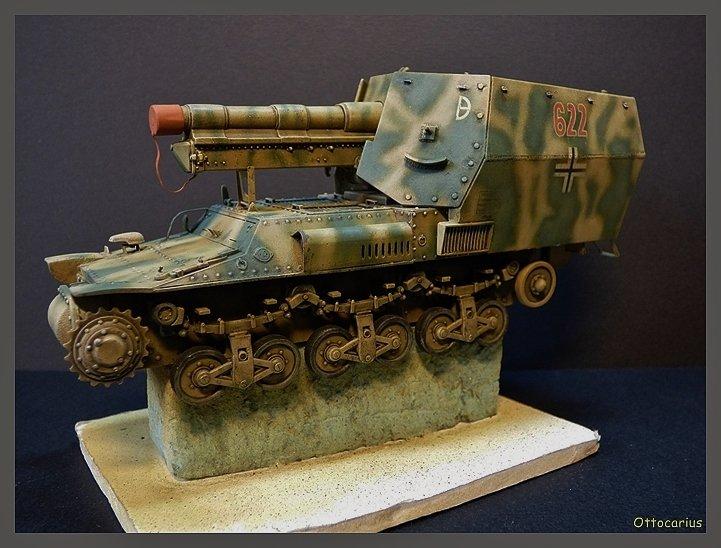 15 cm sFH.13/1 auf Geschutzwagen Lorraine-Schlepper Sd.Kfz. 135/1   RPM 1/35 ème  - Page 4 190526075012296515