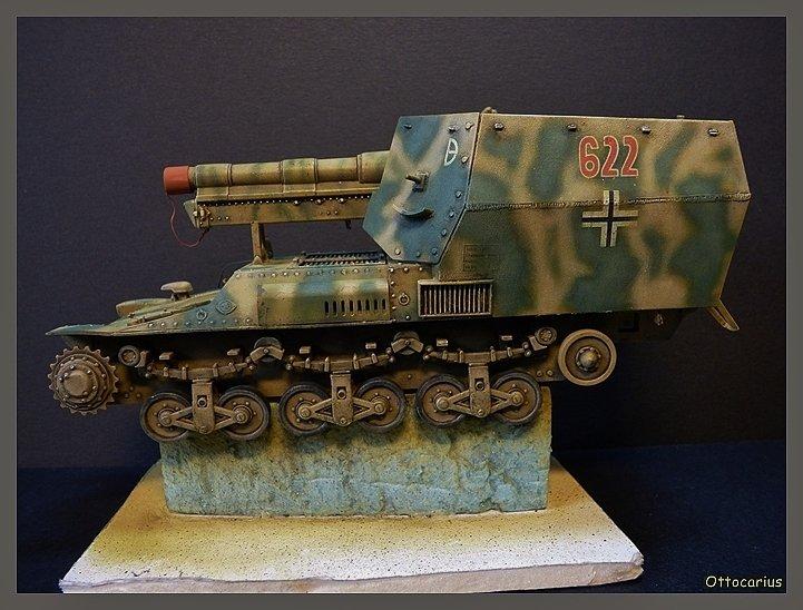 15 cm sFH.13/1 auf Geschutzwagen Lorraine-Schlepper Sd.Kfz. 135/1   RPM 1/35 ème  - Page 4 19052607501367434