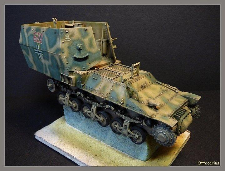 15 cm sFH.13/1 auf Geschutzwagen Lorraine-Schlepper Sd.Kfz. 135/1   RPM 1/35 ème  - Page 4 190526081722714368