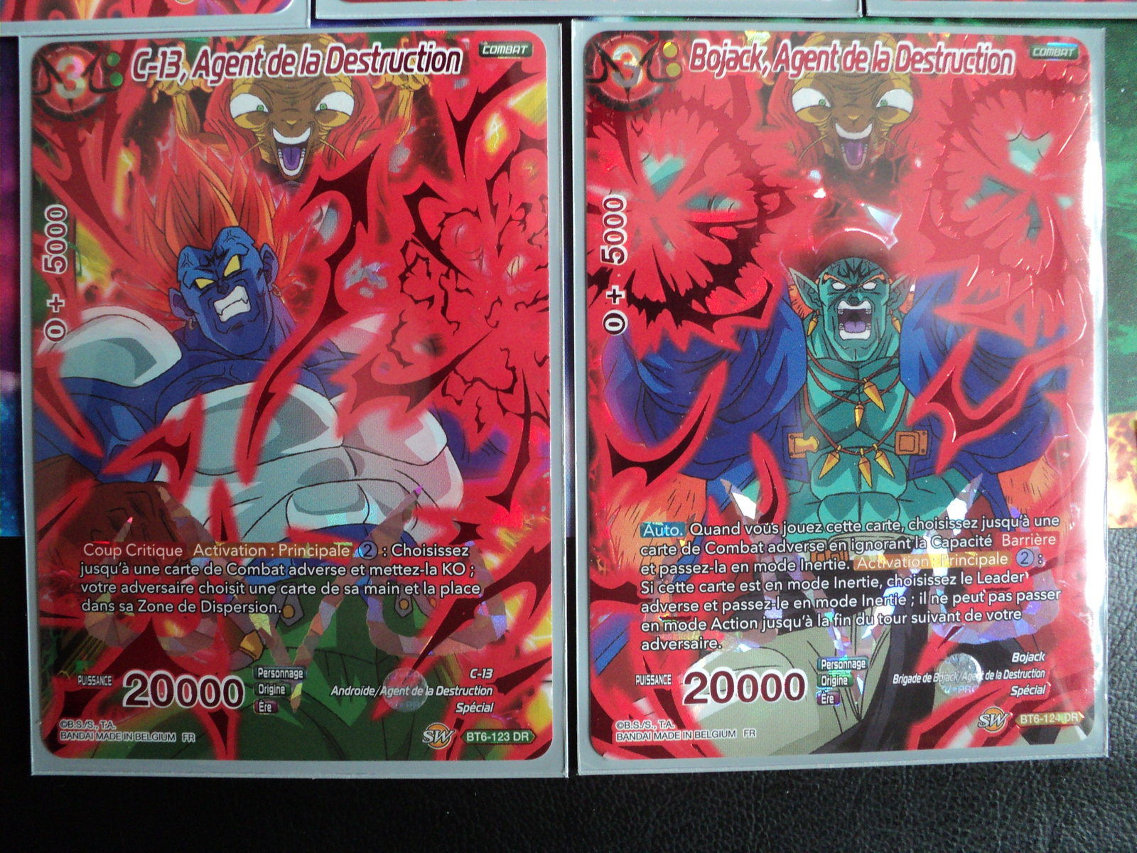 Dragon Ball Super Card Game FR Bojack,Agent de la Destruction BT6-124 DR NEUF