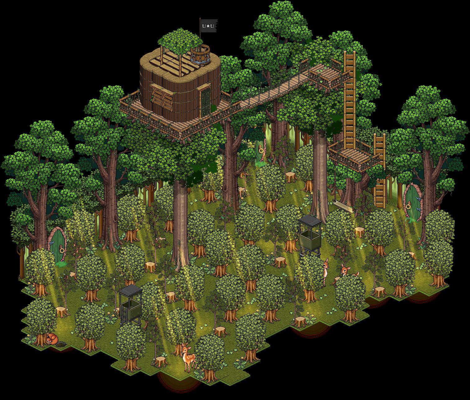 U¥U La Forêt de Brocéliande