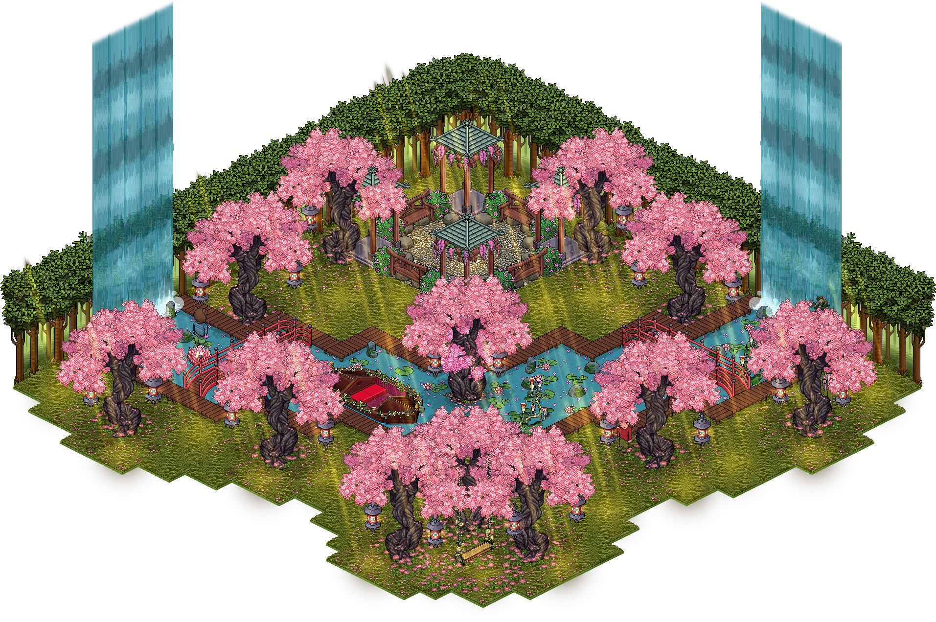 U¥U Le Jardin Secret de Mulan