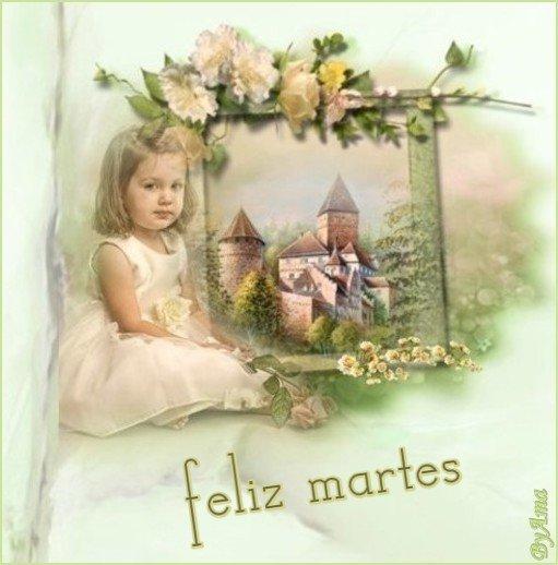 Nena con Fondo de castillo    19060412391368886