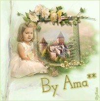 Nena con Fondo de castillo    19060412391491736