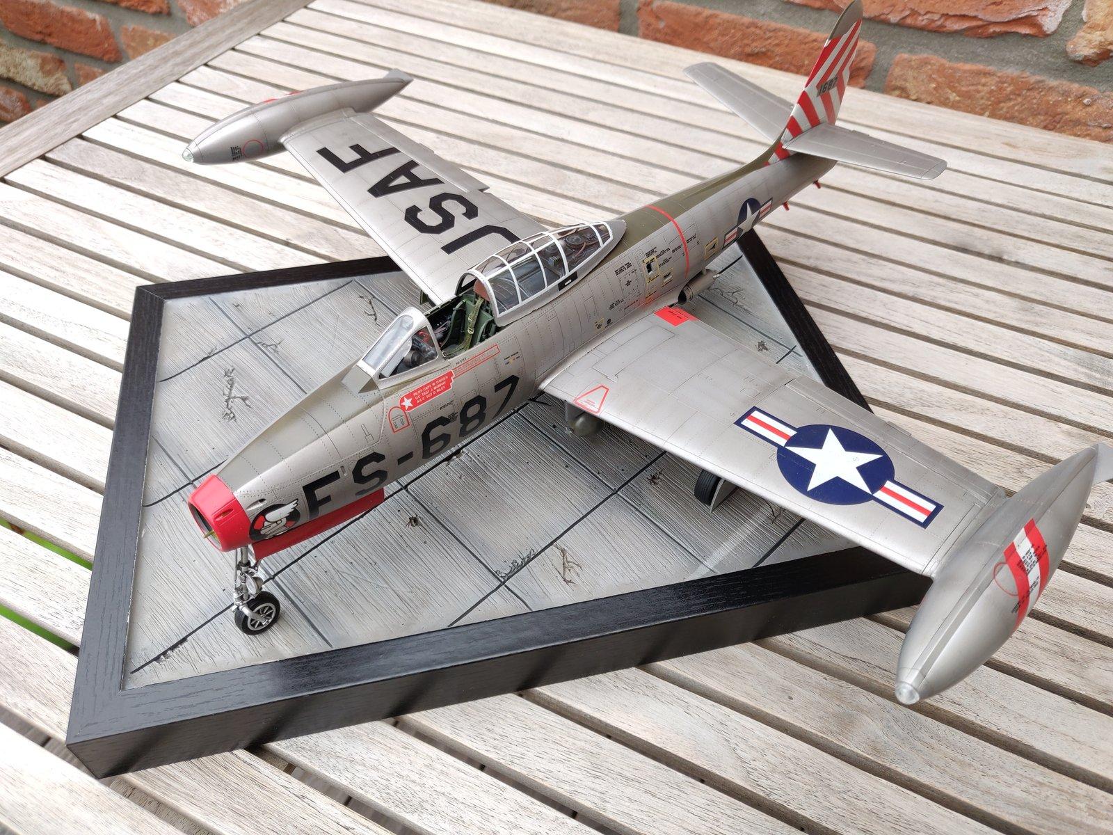 "[Concours ""ça brille""] F-84E Thunderjet  190609030135486835"