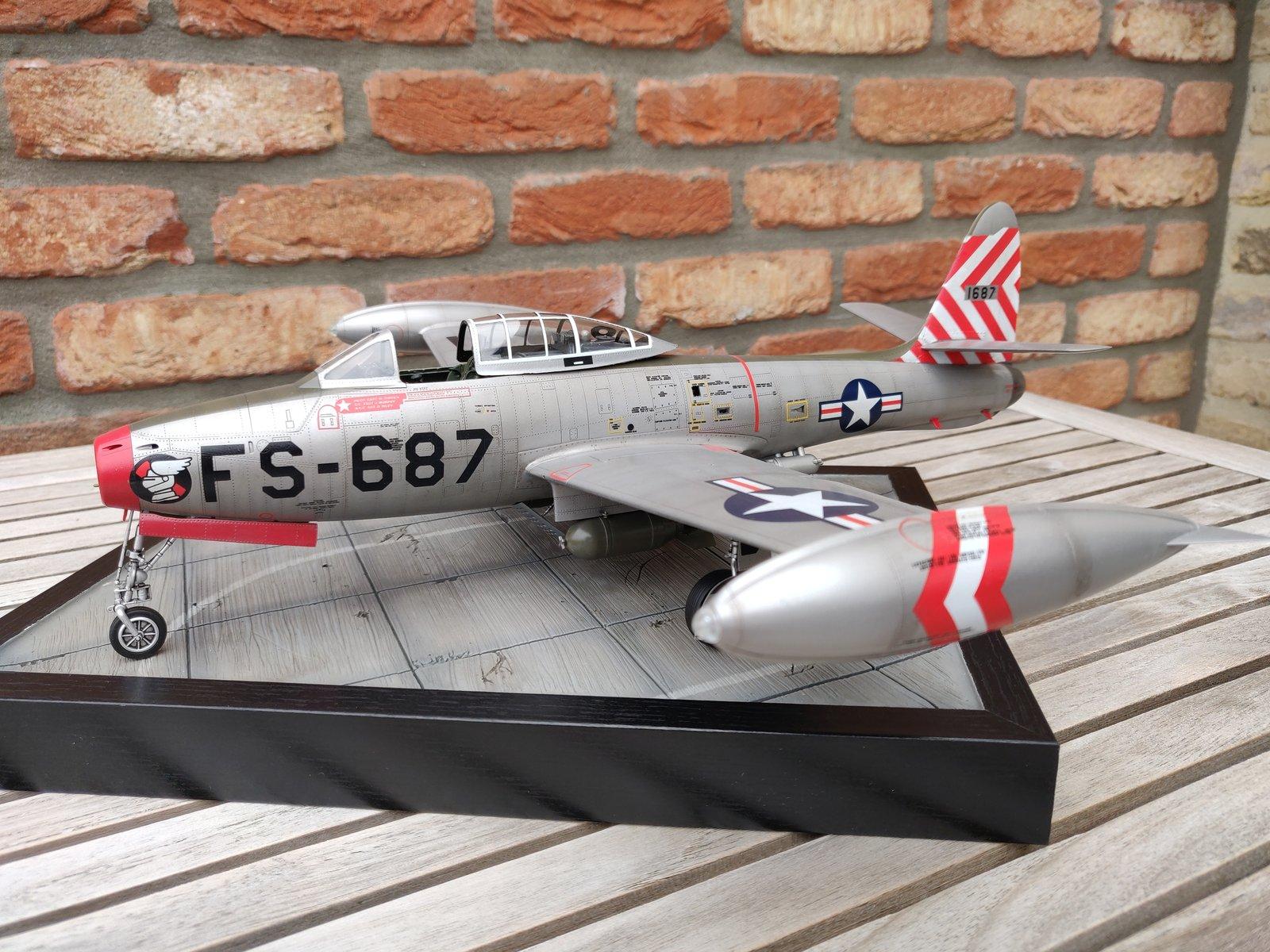 "[Concours ""ça brille""] F-84E Thunderjet  190609030145345337"
