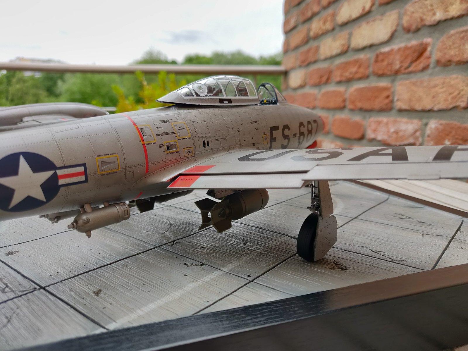 "[Concours ""ça brille""] F-84E Thunderjet  190609030156286779"