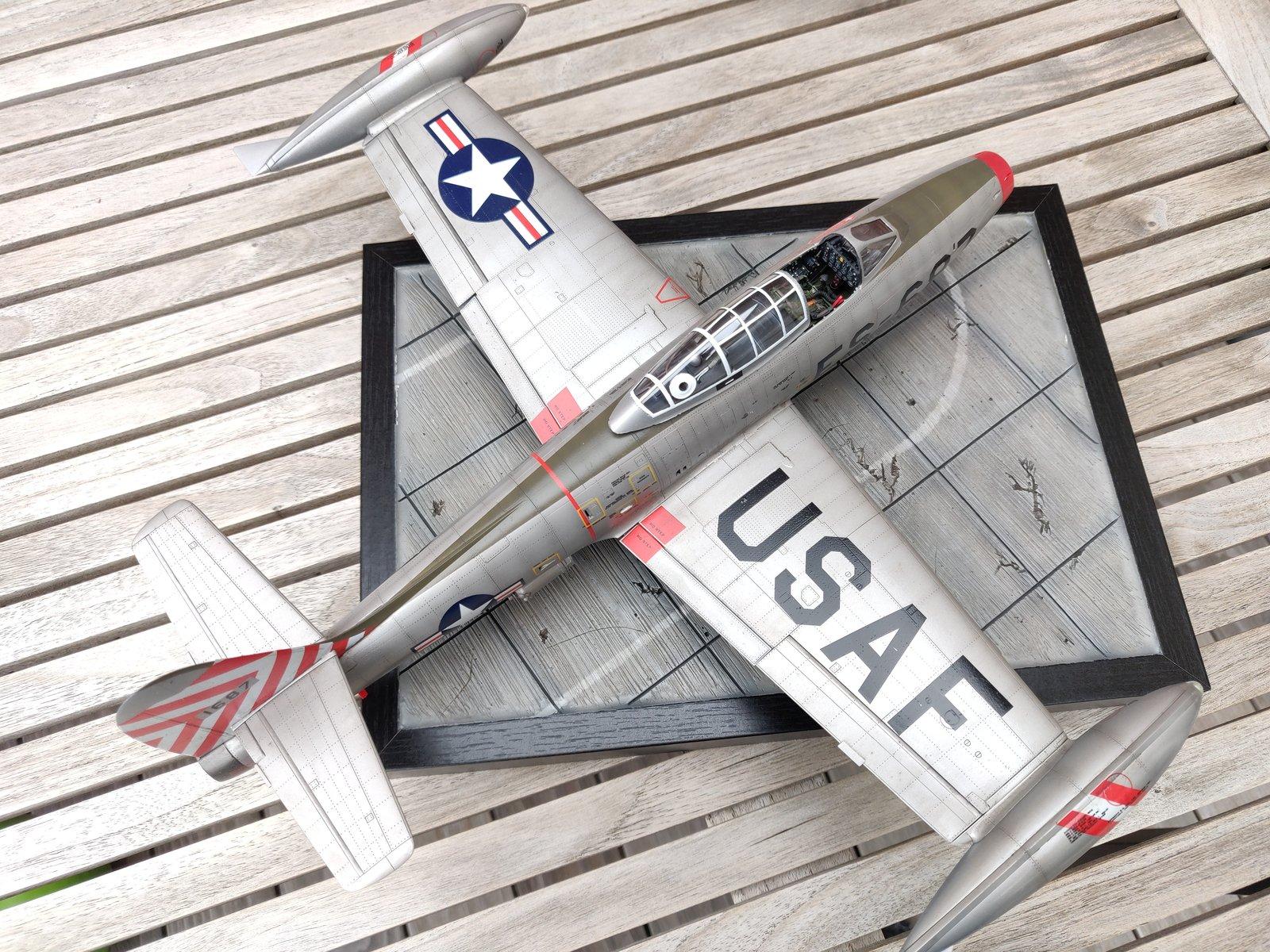 "[Concours ""ça brille""] F-84E Thunderjet  190609030203357613"