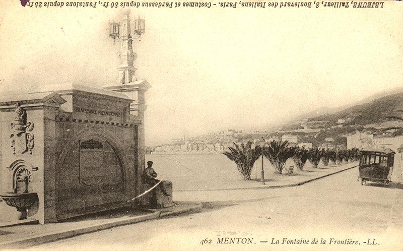 Menton 060052 T - Collection Michel Raclin a