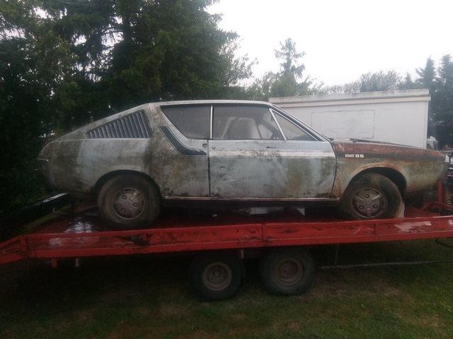 Renault 17 TL pour de la piece ! 190611062319305451